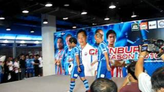 Chonburi FC new kit 2010