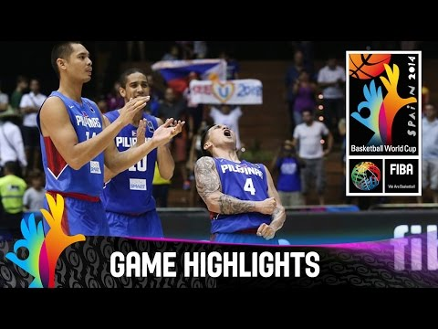 Senegal v Philippines - Game Highlights - Group B - 2014 FIBA Basketball World Cup