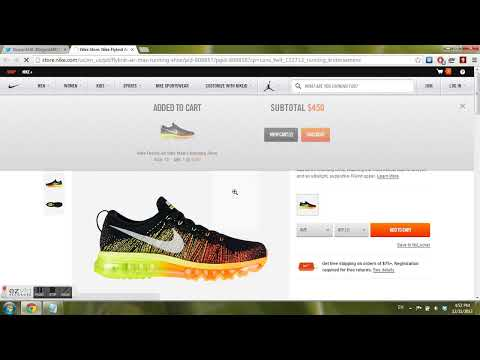 Super Fast Nikebot Demonstration (SECURE EVERY LIMITED SHOE!!)