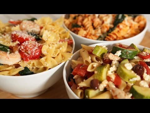 Back-to-School Lunch Idea: Pasta 3 Delicious Ways