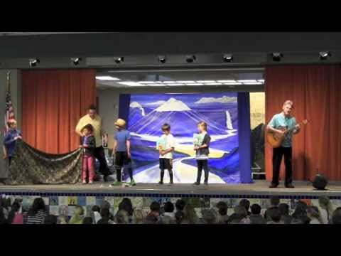 a storm water, stormdrain, water runoff, and watershed school assembly