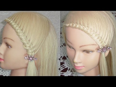 Peinado de Moda con Nudos♥   knotted hairstyle   ViriYueMoon