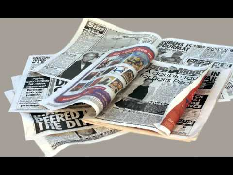 newspaper animation - 'More Than Just A Good Read'