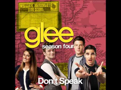 Glee - Don't Speak (no Doubt Cover) 4x04 The Break-up video