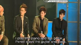 BTOB Debut and History: Grand Launching Show Talk part 5 eng sub