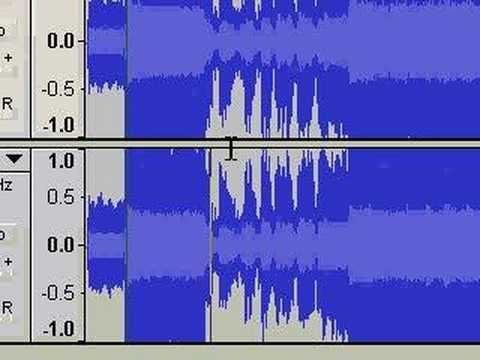 Rip Vocals from Your MP3 Files - Audacity Tutorial