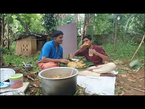 Village food factory/chicken Biryani village style Cooking by my Family in my village / Food Village