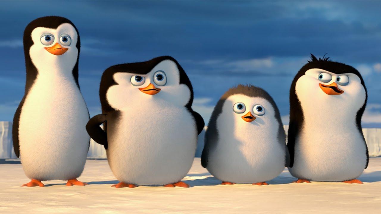 Новый год пингвины мультфильм смотреть