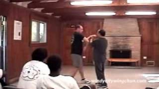 Martial arts wing chun
