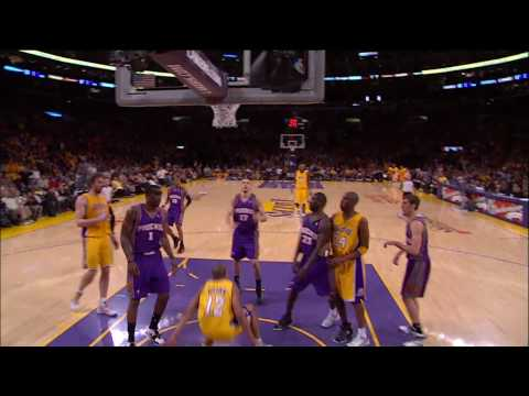 Shannon Brown IN HUMAN JUMP Over JRich Game 1 2010 NBA Playoffs Video