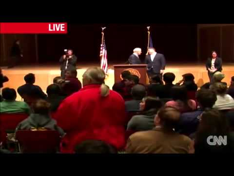 Ron Paul Town Hall Gets Occupied