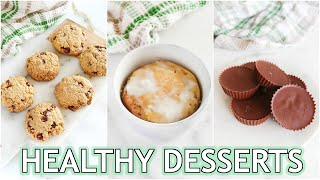 HEALTHY DESSERT RECIPES: keto, low carb, paleo recipes