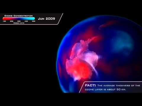 NOAA Satellite Detects Ozone Hole