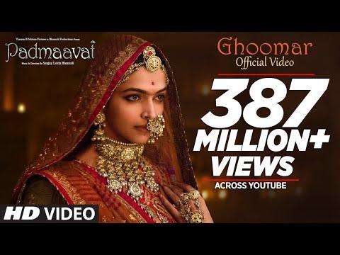 Ghoomar Video Song - Padmaavat, Deepika Padukone, Shahid Kapoor, Ranveer Singh