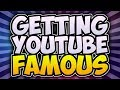 How To Get FAMOUS On YouTube! 📈 GROW Your Channel FAST In 2017! (Watch Until The End)