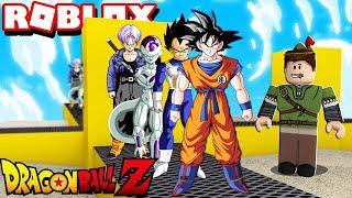 FÁBRICA DO GOKU NO ROBLOX!! (Dragon Ball Tycoon)