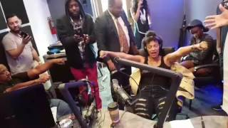 Strong Arm Radio Staff Hypnotized Pt 2 by Dr. Lenny Moore