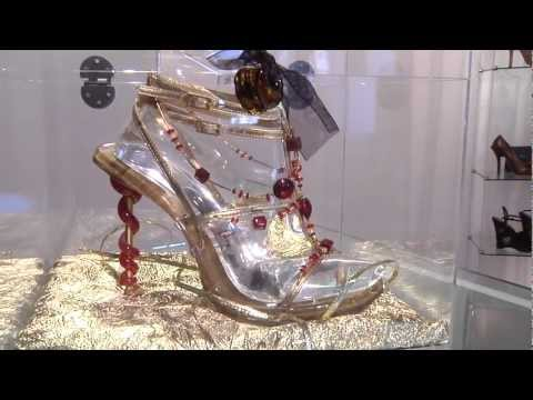 HOLLYWOOD TREND REPORT TV with ANN SHATILLA: Q BY PASQUALE  SHOES