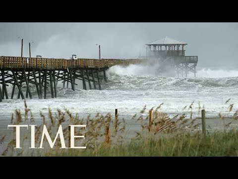 Footage From North and South Carolina As Hurricane Florence Makes Landfall | LIVE | TIME