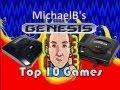 Top 10 Sega Genesis Games | MichaelBtheGameGenie