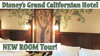 Grand Californian Hotel & Spa - New Renovated Room Tour 2017!