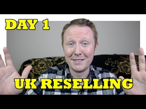 Day 1 as a UK Reseller on eBay - A Quick Hello
