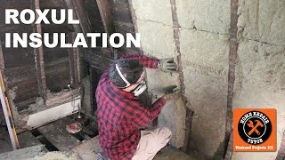 Rockwool Insulation Installation in the Bathroom -- by Home Repair Tutor