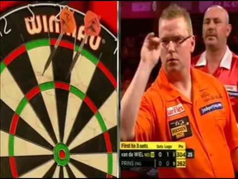 Darts World Championship 2012 Round 1 van der Wiel vs Prins