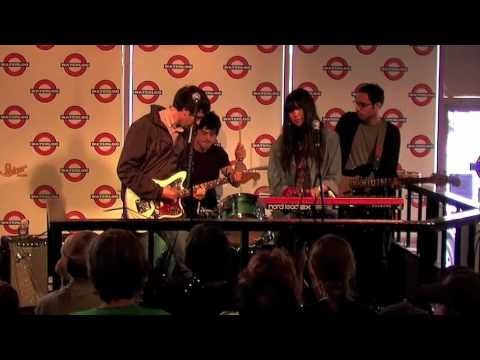 The Pains of Being Pure at Heart live at Waterloo Records SXSW 2009 Austin, TX Music Videos
