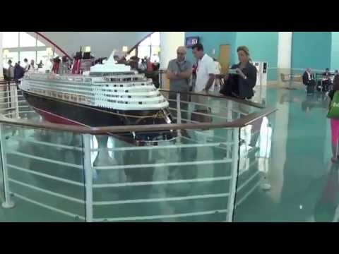 Disney Fantasy Cruise 2015 - Eastern Caribbean - Day 1 - Embarking