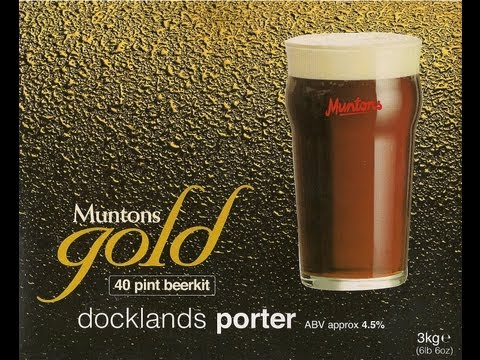 Muntons Gold - Dockland Porter