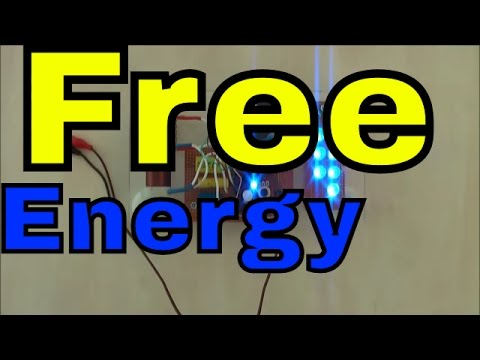 FREE ENERGY DEVICE - AKULA Blue LED Light Generator