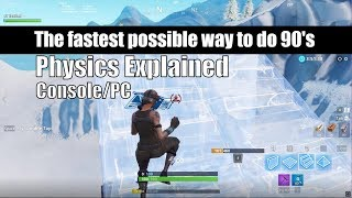 How to Easily Do The Fastest 90's Possible In Fortnite Pc/Console (Beginner-Advanced-Pro)
