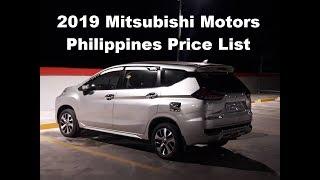 2019 Mitsubishi Motors Philippines Price List