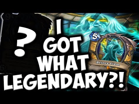 PRINCE LIAM GAVE ME WHAT LEGENDARY?! | SECRET PALADIN | THE WITCHWOOD | HEARTHSTONE |DISGUISED TOAST
