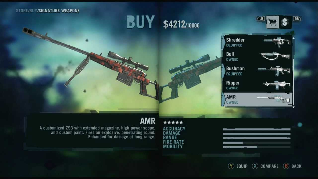 Far Cry 3 Weapons Mod Far Cry 3 All Weapons