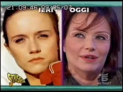 Prima e dopo, le incredibili trasformazioni della faccia di Francesca Neri