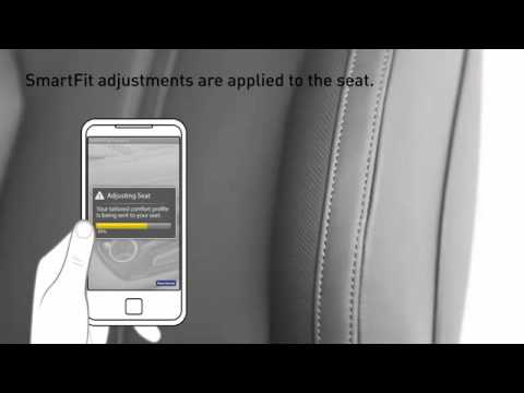 Faurecia Smart Fit the seat high tech app