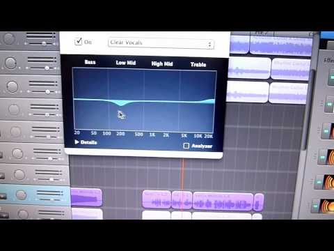 How To Mix Vocals in Garageband