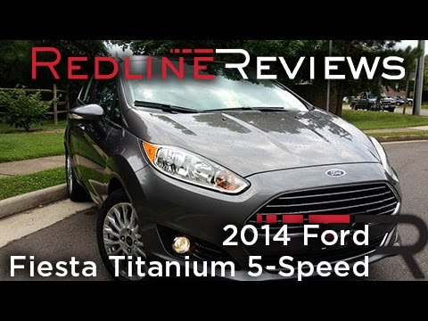 2014 Ford Fiesta Titanium 5-Speed Review. Walkaround. Exhaust. & Test Drive