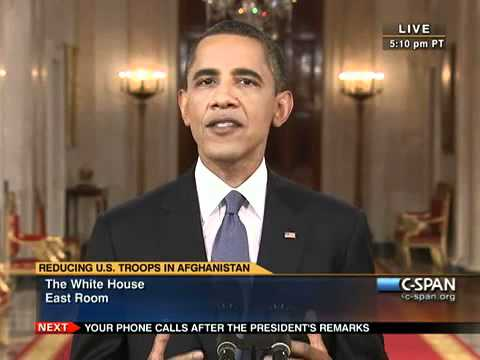 President Obama Announces Afghanistan Troop Reduction