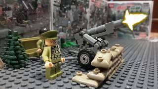 Film 1945 STOPMOTION Senjata Anti Tank Toys LEGO Animation