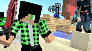 "Minecraft Song and Minecraft Animation: Castle Raid 4 ""This Is War"" Top Minecraft Songs 2016"
