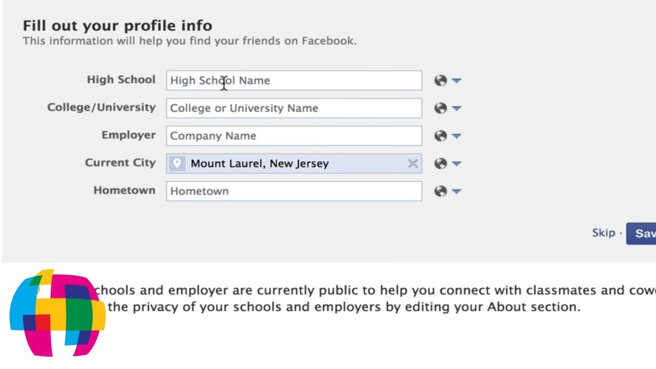 How To Create A Facebook Account Youtube