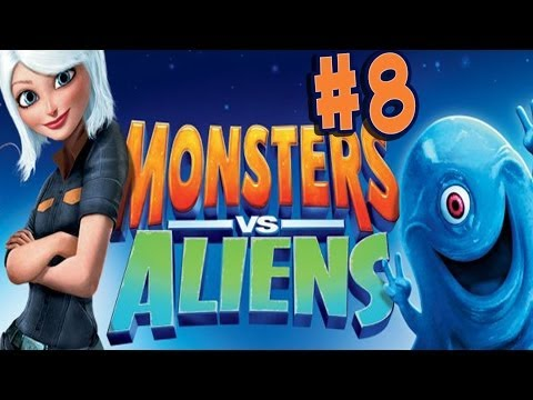 Monsters vs. Aliens - Walkthrough - Part 8 - Mind Blowing (PC) [HD]