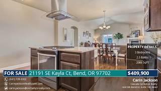 Video Tour: 21191 SE Kayla Ct, Bend, OR 97702