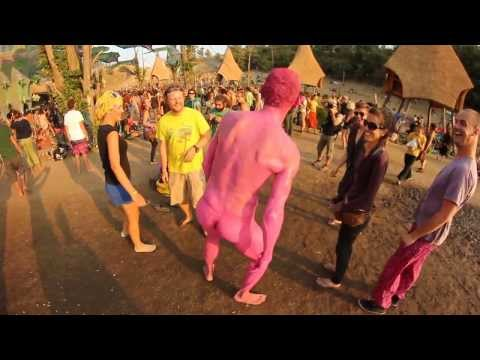Ozora Festival 2013 - the pink man  by Vargem