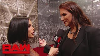 Stephanie McMahon is sick to her stomach after Rousey's attack on Lynch: Raw, March 4, 2019