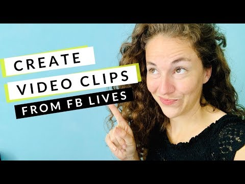 Facebook Tutorial: How to Create Video Clips Inside Creator Studio