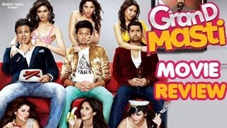 Grand Masti Movie Review - Obnoxious Comedy